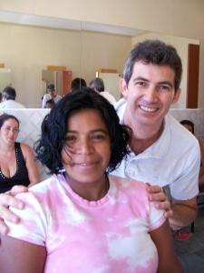 Nosso parceiro, Wanderley, dono do salão Irmãos, na Tijuca